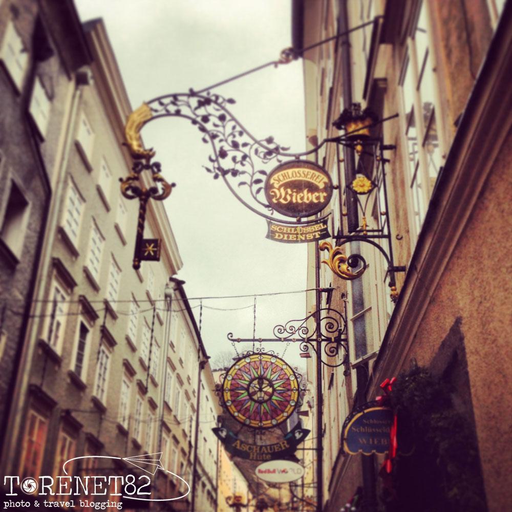 salisburgo GETREIDEGASSE austria