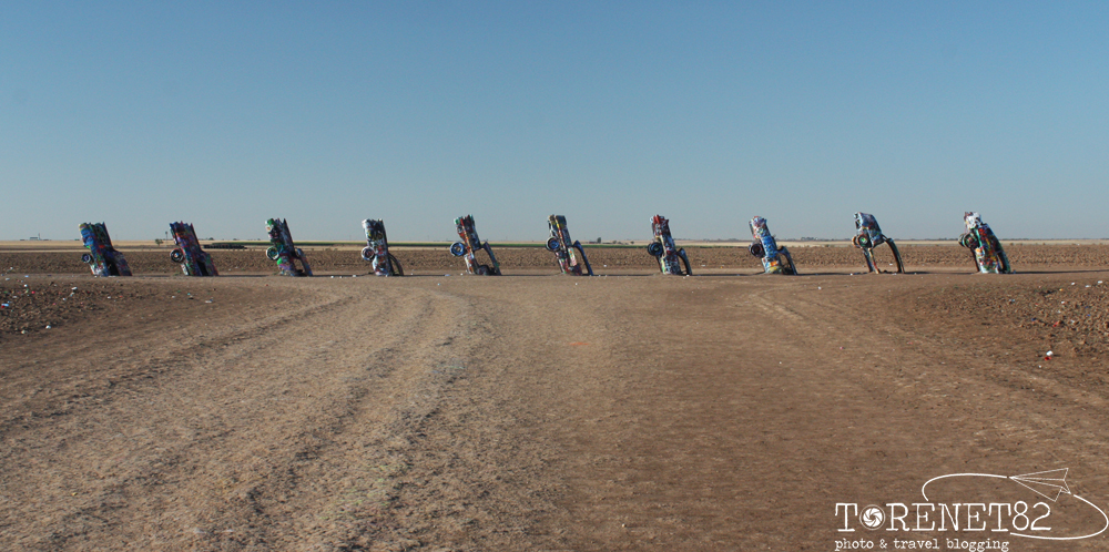 cadillac ranch amarillo texas route66