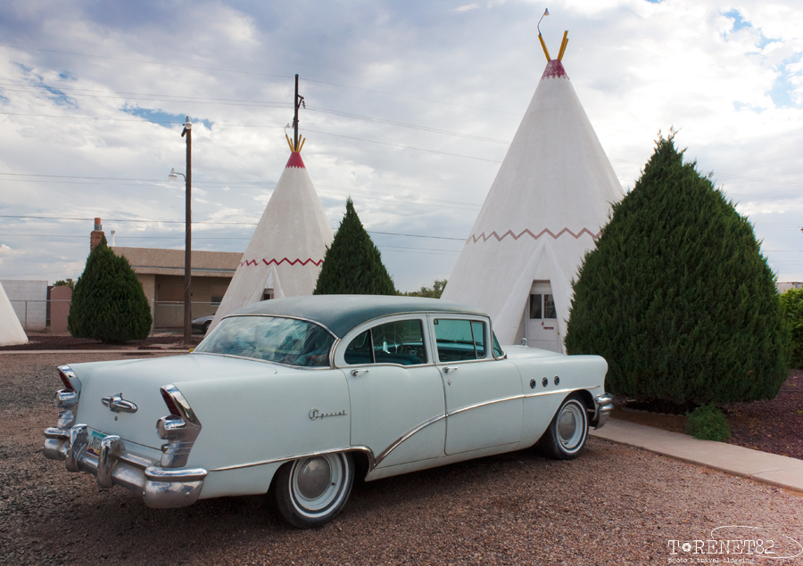 viaggio lungo la route 66 mother road wigwam motel