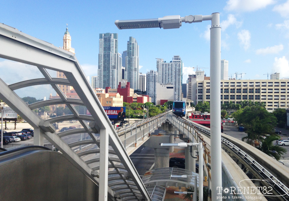 miami metromover downtown