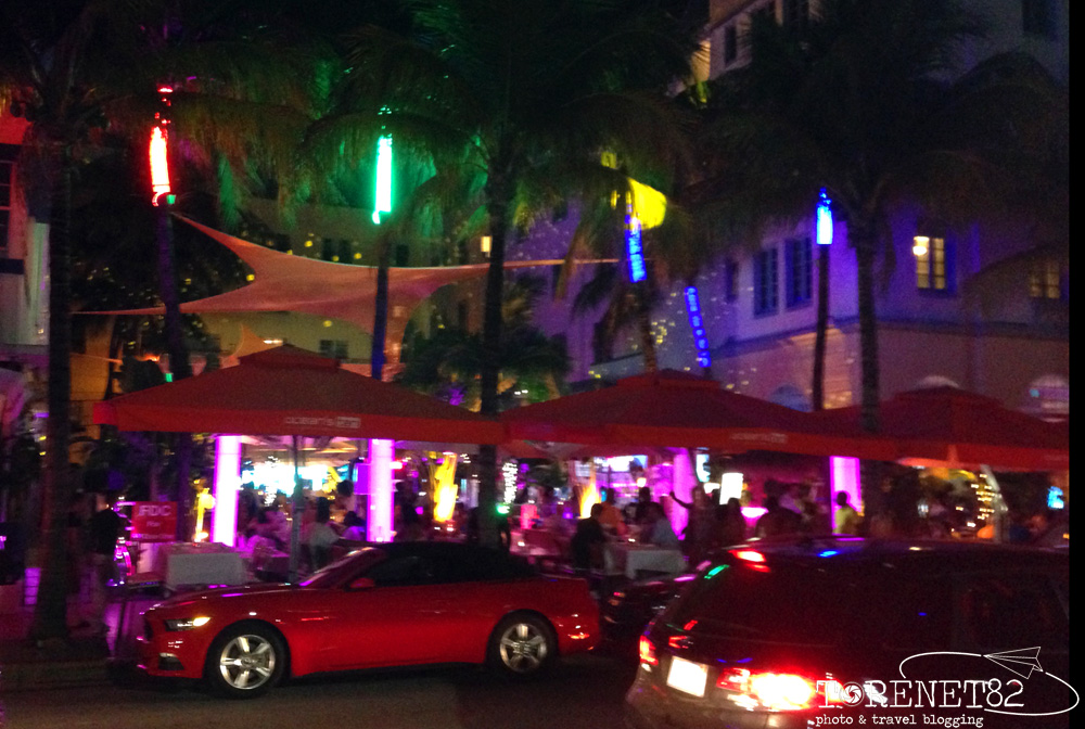 night South beach miami