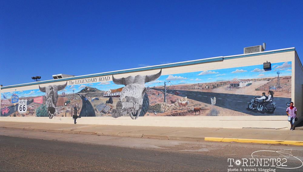 tucumcari amarillo route66 murales