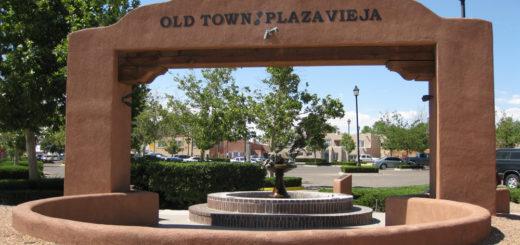 old town plaza albuquerque newmexico