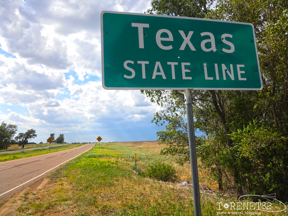 route 66 texas confine america
