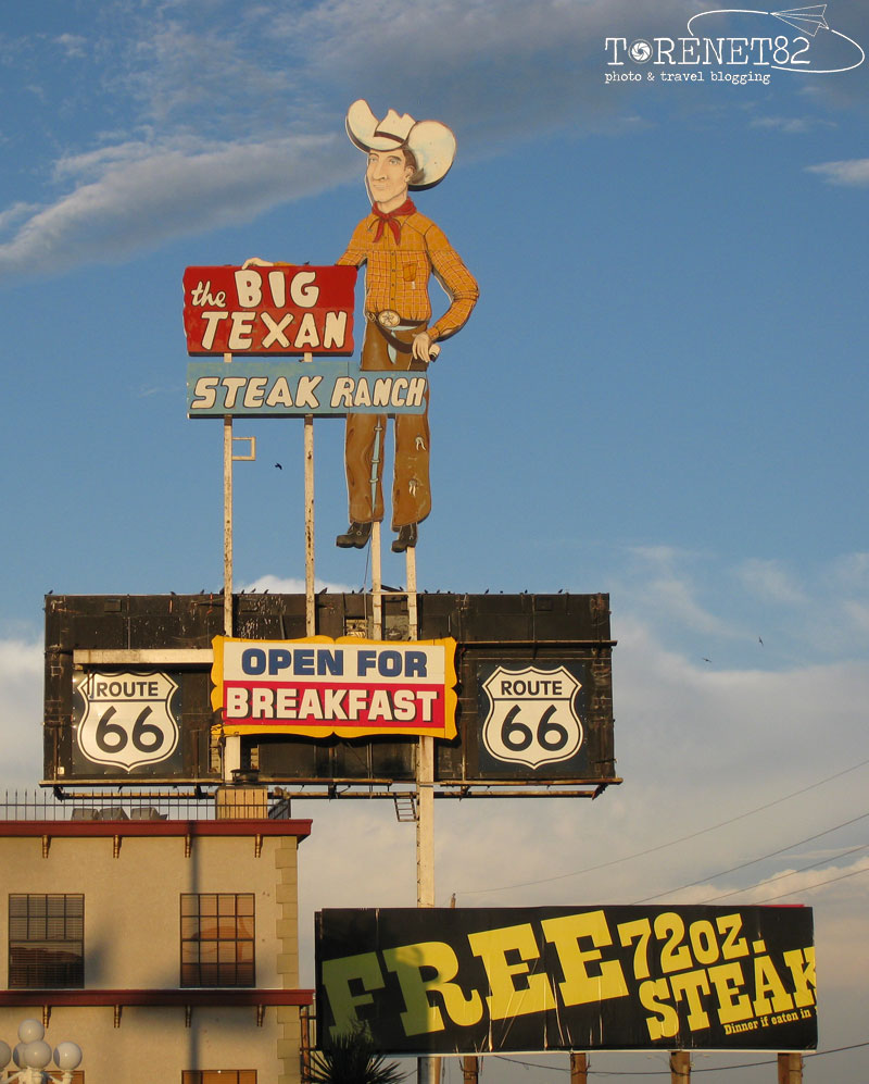 Big Texan Motel route 66