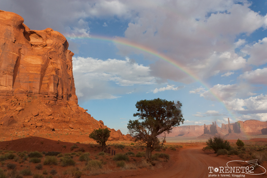 monument valley arcobaleno scenic roads