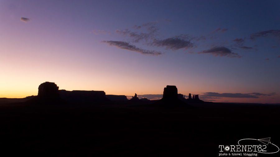 monument Valley tramonto USA