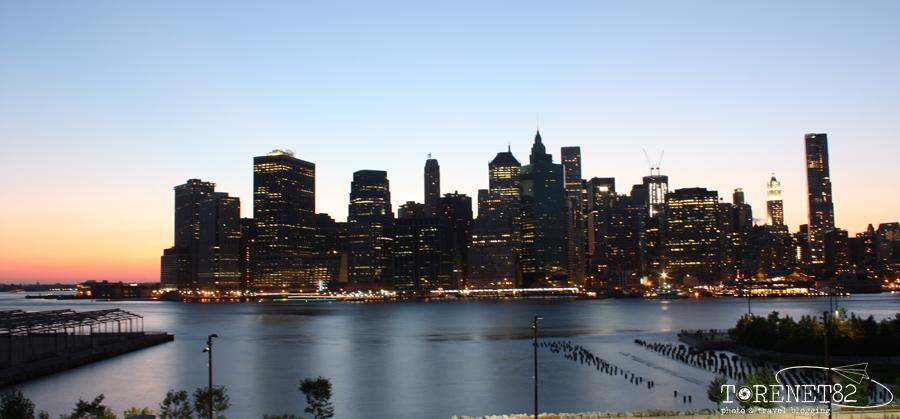 Manhattan skyline new york viaggiare