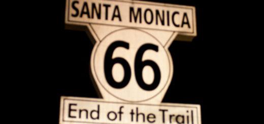 santamonica california route66