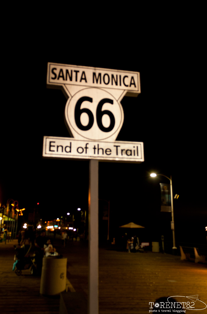 santa monica california los angeles route66