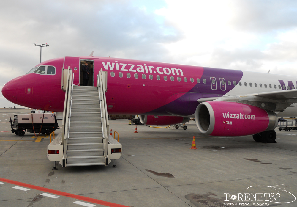 wizzair flight praga