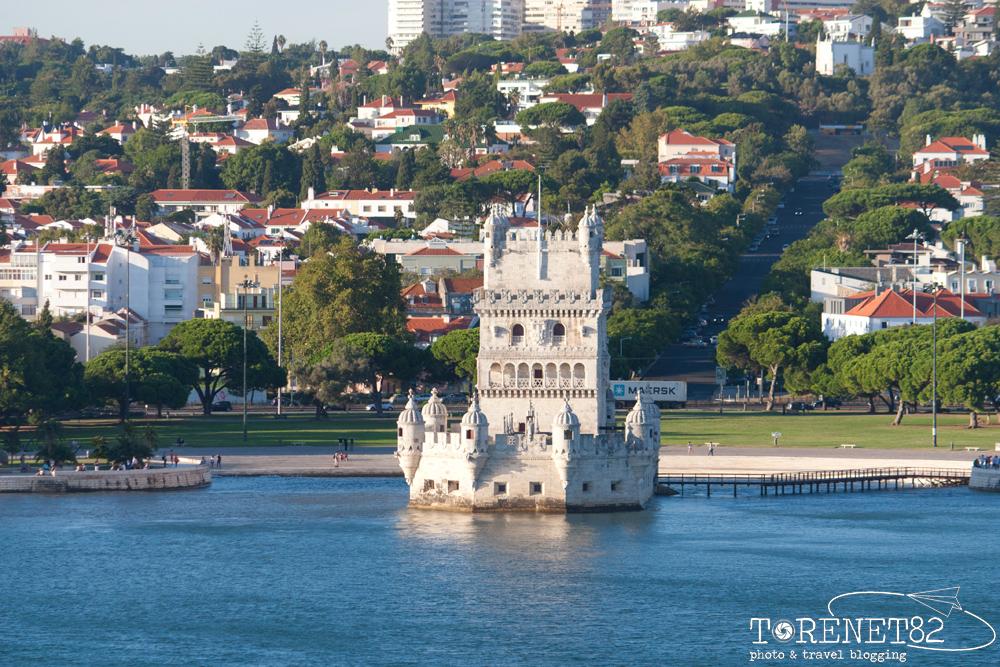 Torre di Belém lisbona crociere itinerario
