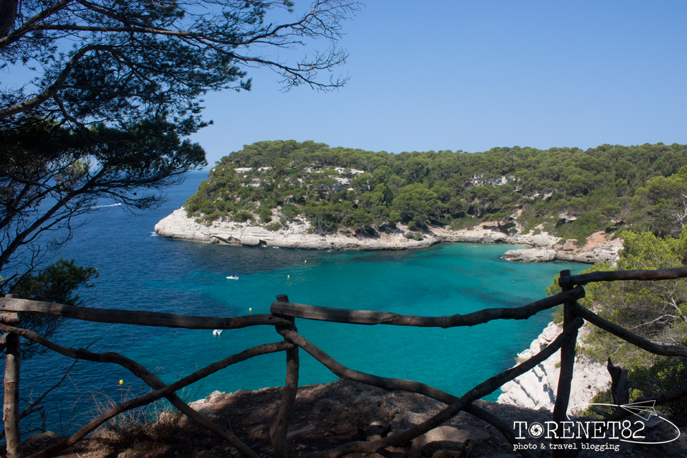 spiagge di minorca Cala Mitjana