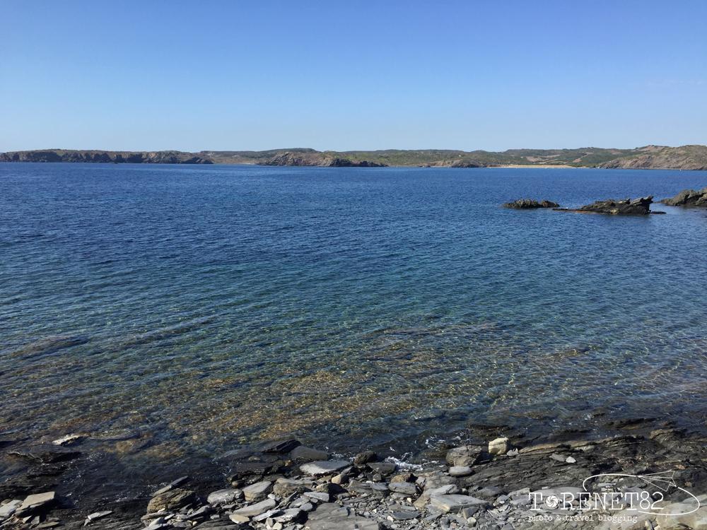 spiagge di minorca S'Escala e Platja de Capifort