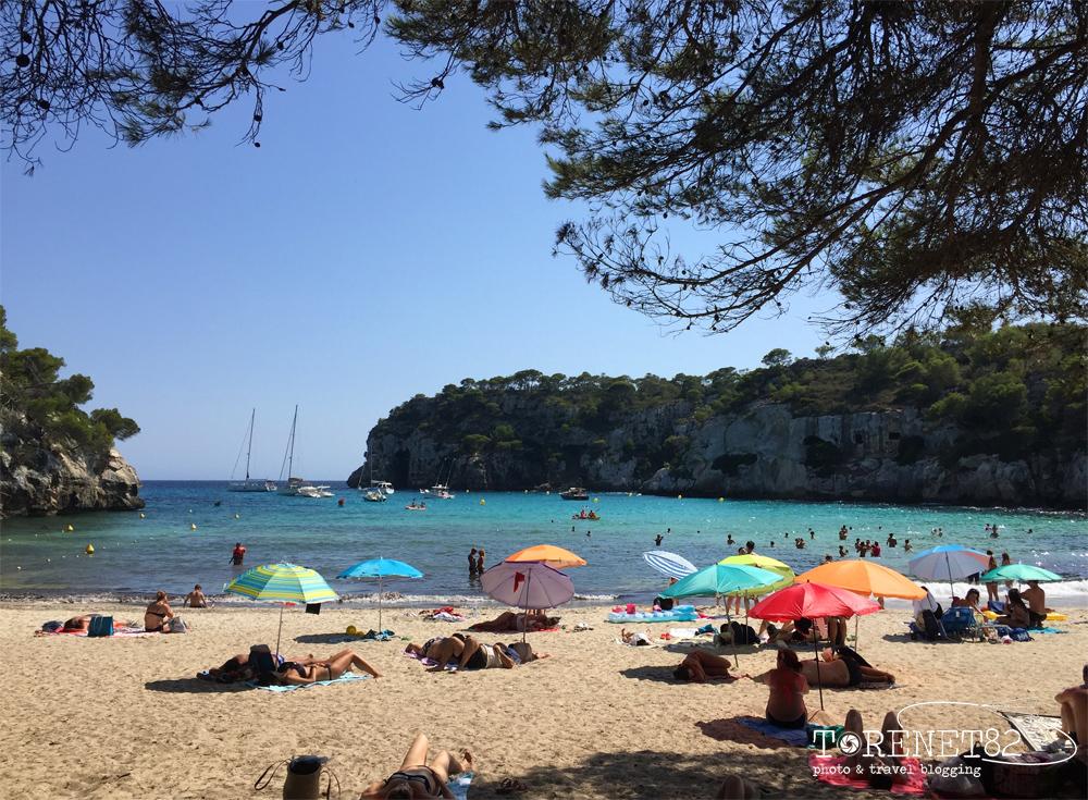 spiagge di minorca Cala Macarelleta