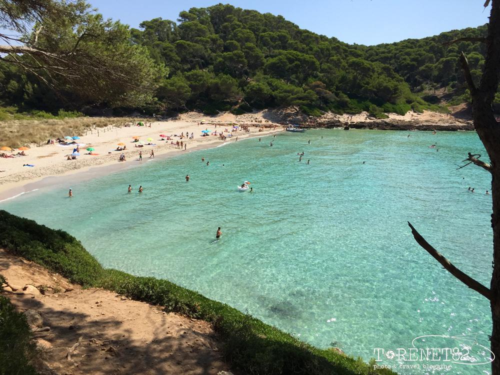 spiagge di minorca Cala Trebaluger