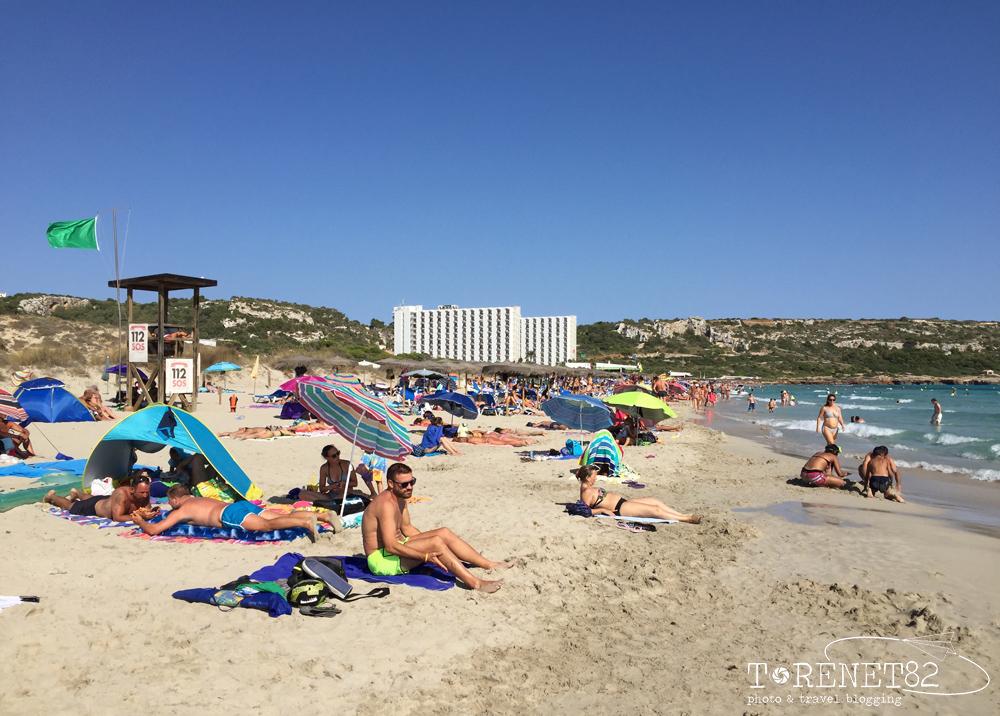 spiagge di minorca Son Bou