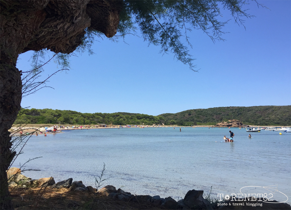 spiagge di minorca Platja des Grau