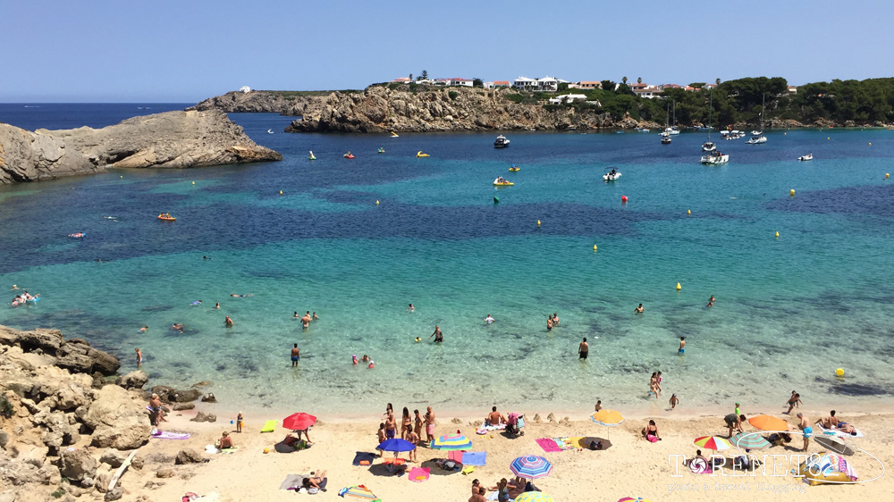 spiagge di minorca Arenal d'es Castell
