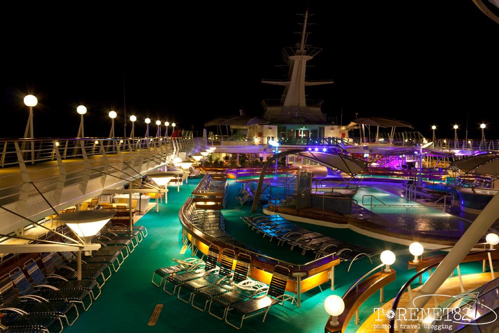 Piscina Splendour of the Seas crociere