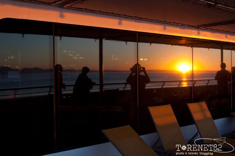 crociera andalusia tramonto