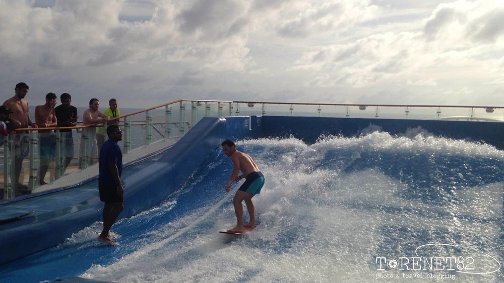 surf royal caribbean crociere