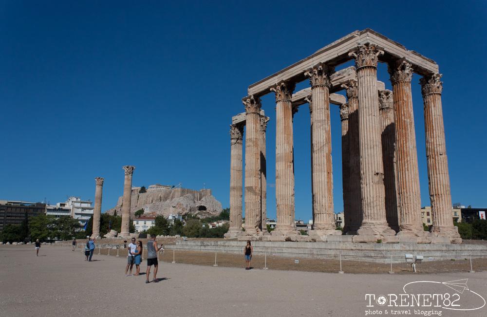 Tempio di Zeus Olimpio atene in 3 giorni