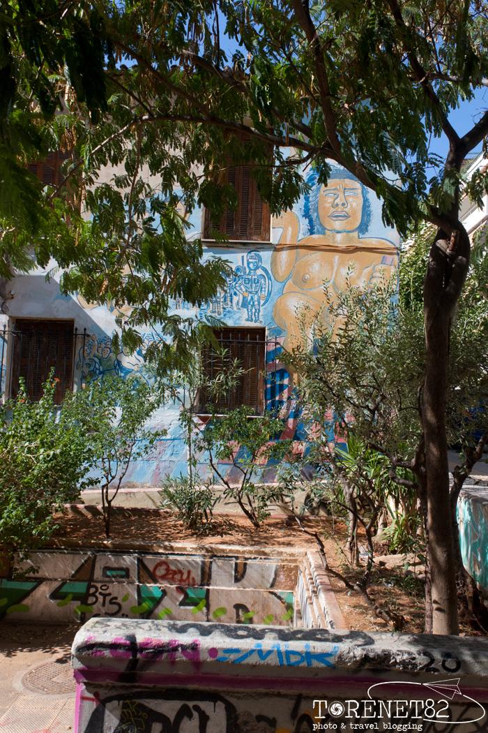 Exarchia atene in 3 giorni murales