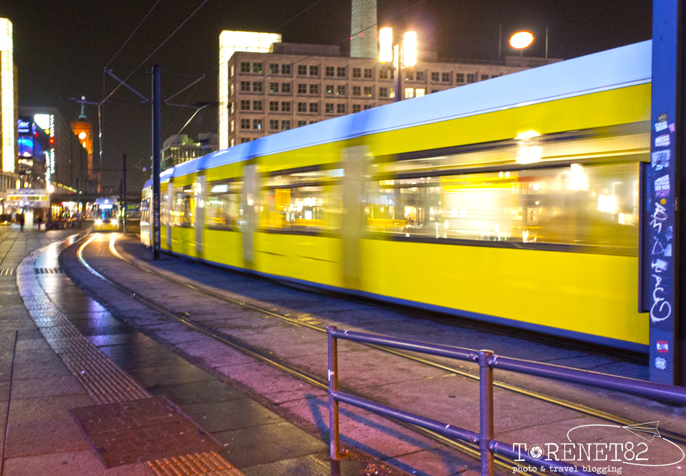 berlino visitare berlino tram alexanderplatz