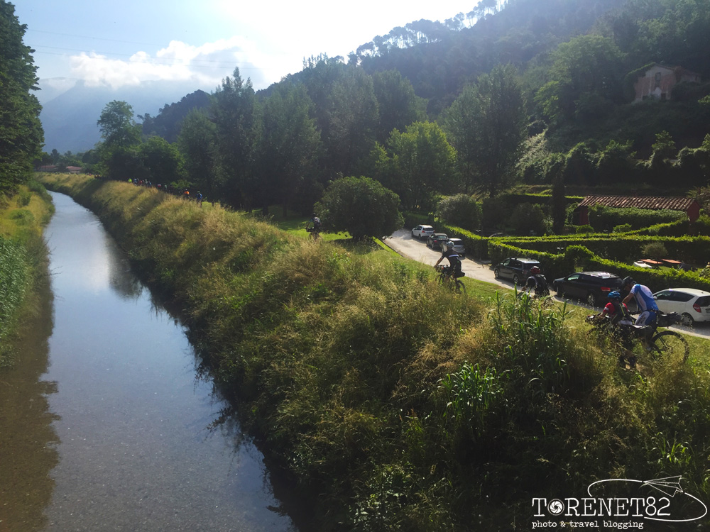 Pietrasanta tuscany trail toscana bicicletta