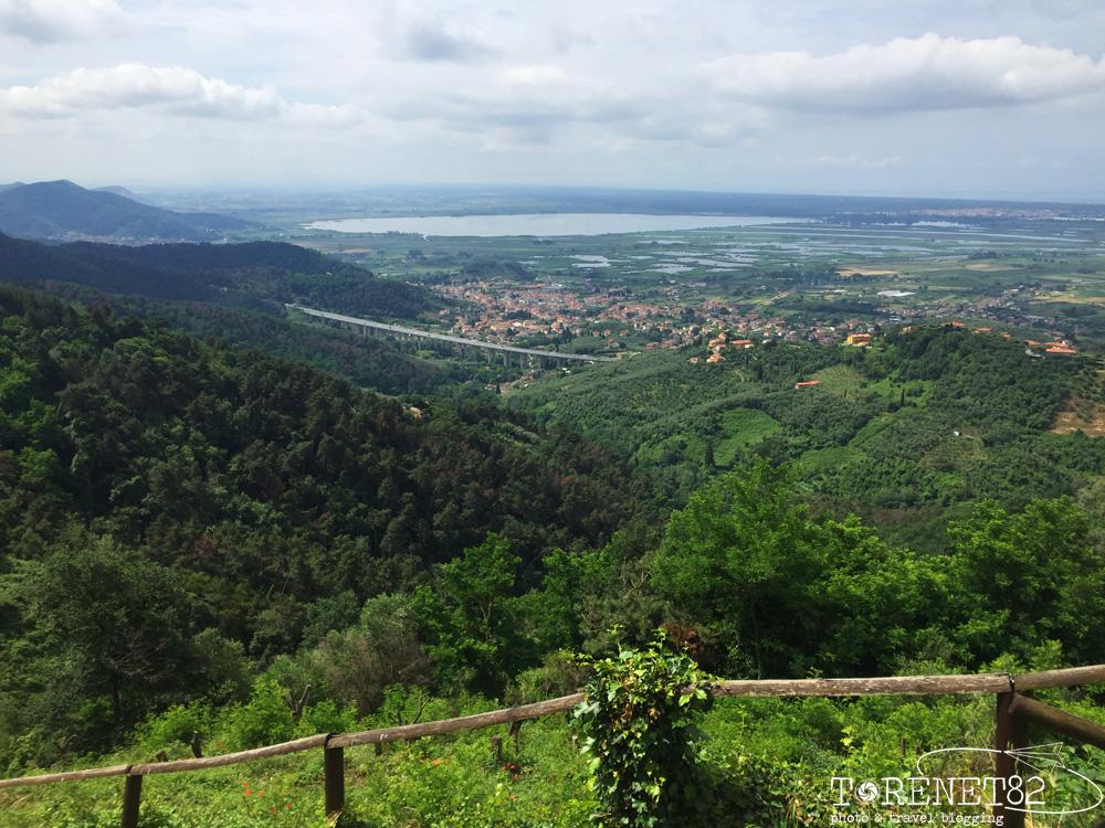 lago di Massaciuccoli tuscany trail toscana bicicletta