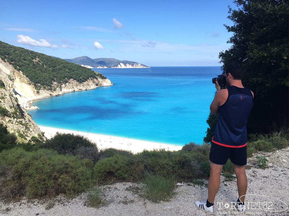 Myrtos beach vacanza a cefalonia grecia