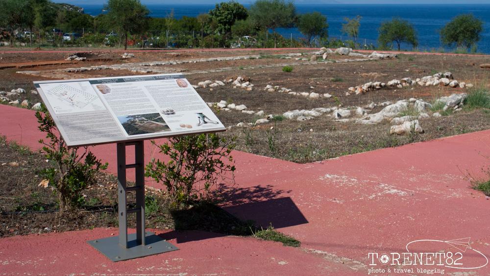 tempio antico skala vacanza a cefalonia