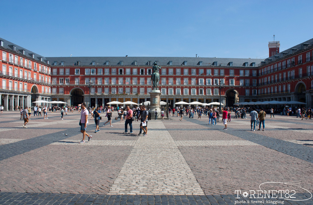 plaza mayor madrid spagna visitare