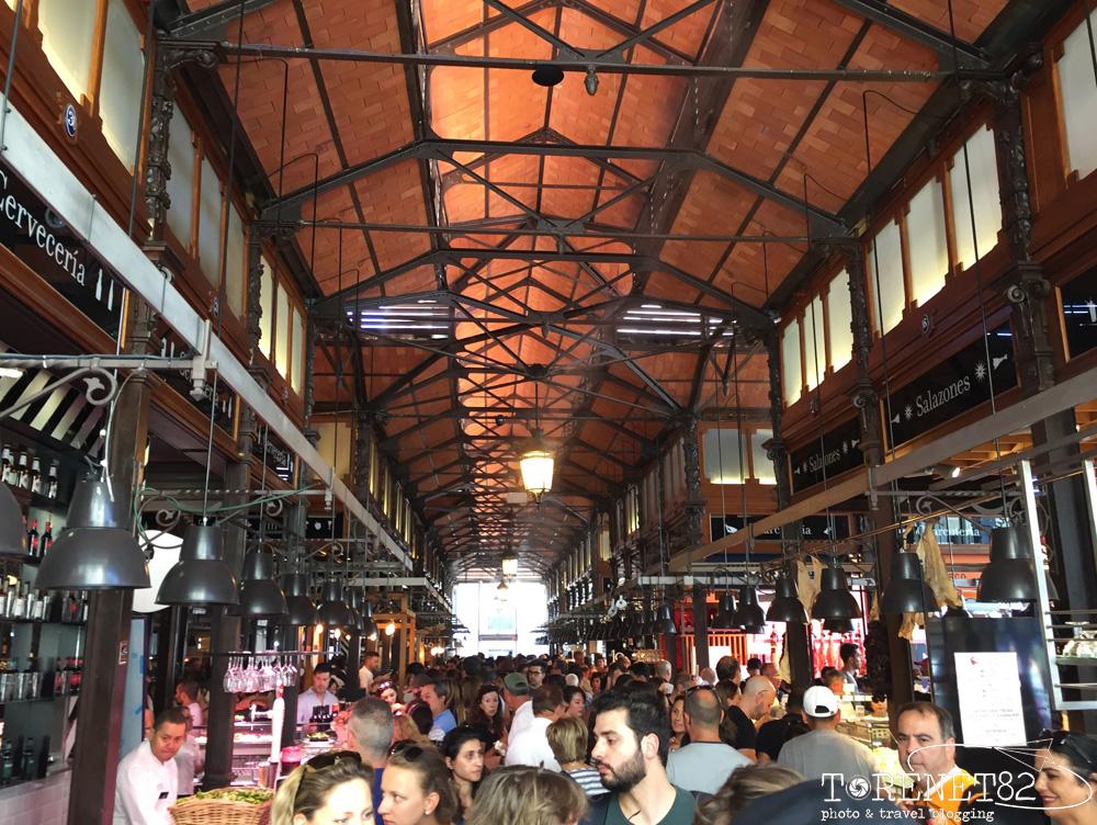 Mercado San Miguel madrid spagna visitare