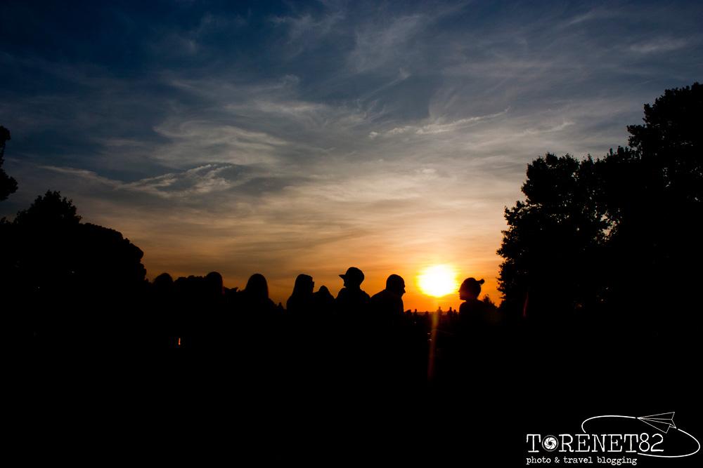 sunset madrid spagna visitare