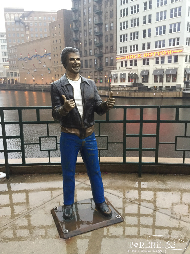 un giorno a milwaukee stati uniti happy days