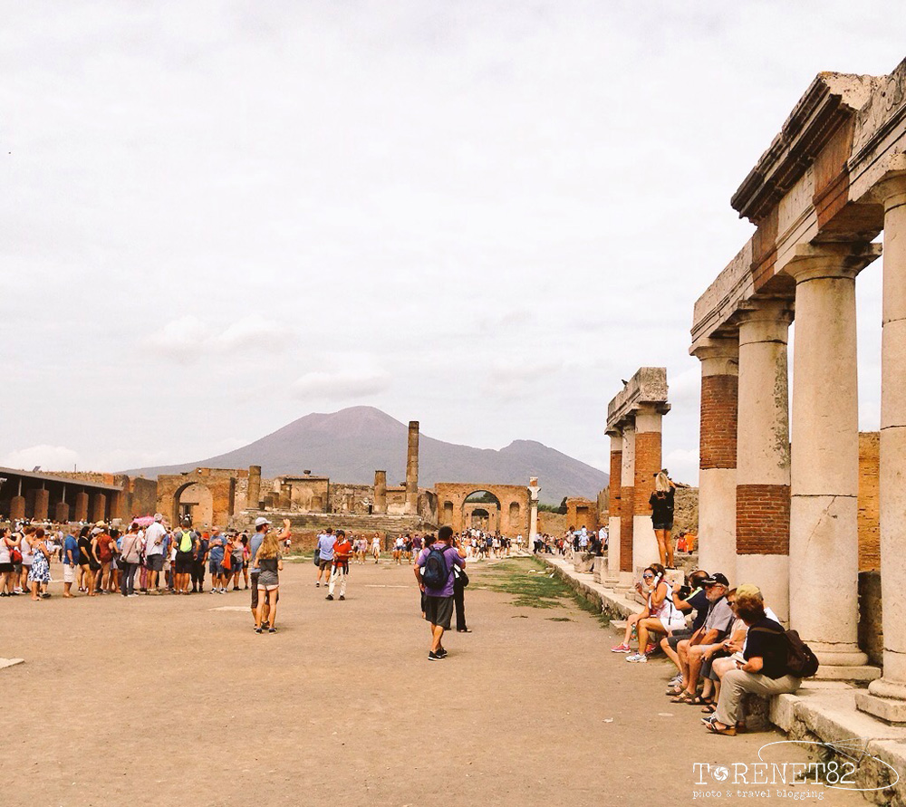 pompei in crociera