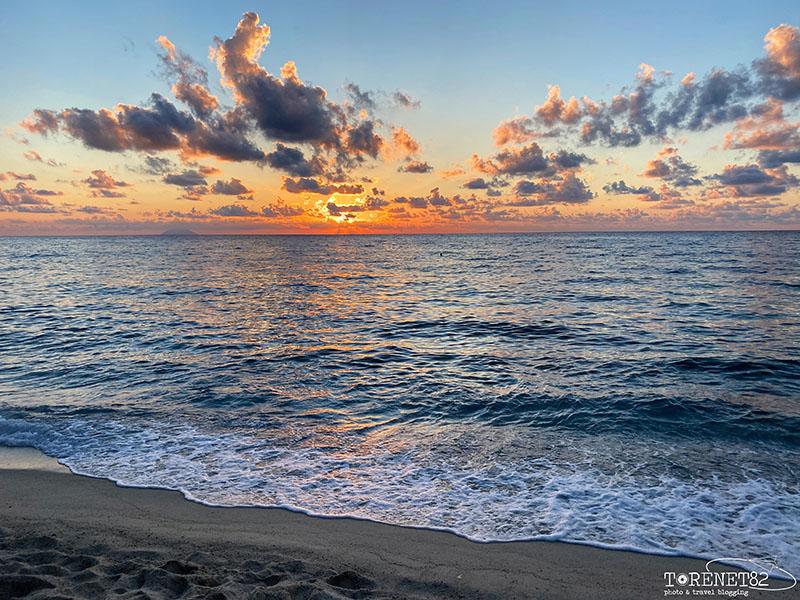 tropea tramonto calabria